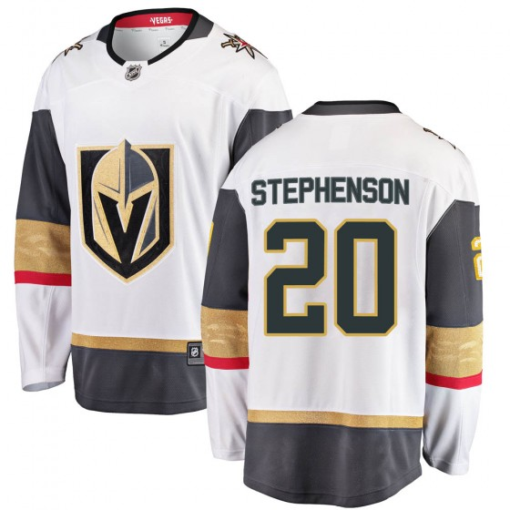 Breakaway Fanatics Branded Men's Chandler Stephenson Vegas Golden Knights Away Jersey - White